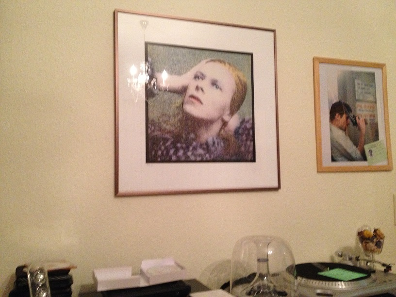 Bowie Gemälde