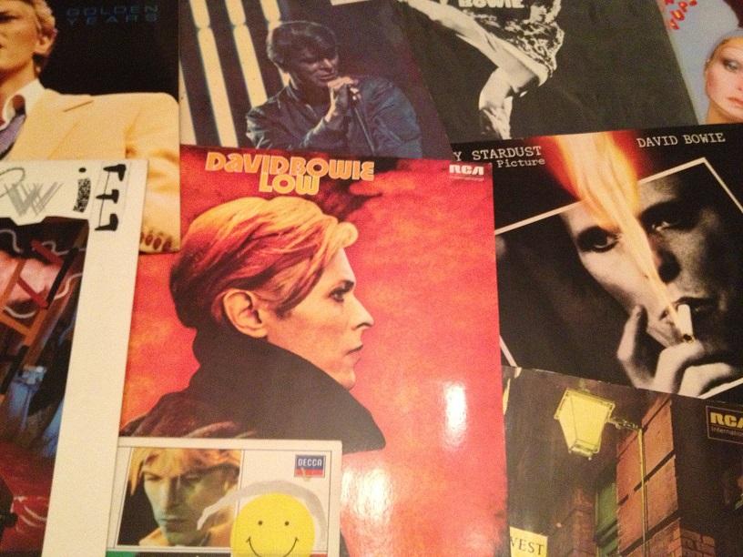 Bowie Erste Schritte